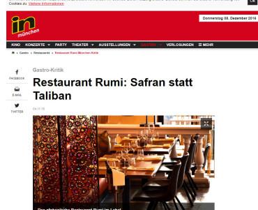 IN München - Rumi Restaurant (Afghanische Küche München)